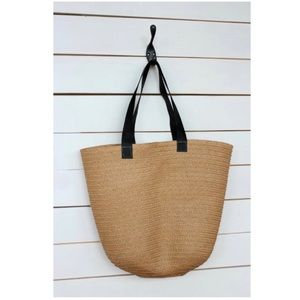 Handbags - Straw Tote